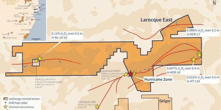 IsoEnergy To Drill Up A Storm In Follow Up Of Hurricane Uranium Discovery