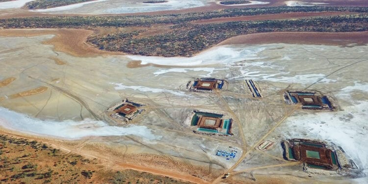 Salt Lakes Completes Stage 2 Construction At Lake Way