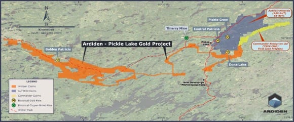 Ontario Gold Footprint Increases To Over 500sqkm