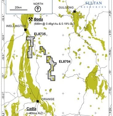 Sultan Takes A Swing At NSW Porphyry Gold And Copper Projects