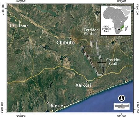 MRG Confirms Thick Sands Mineralisation In Mozambique