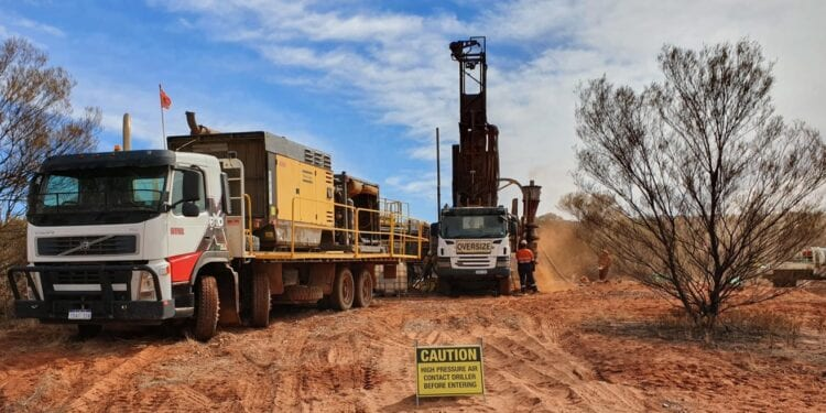 Rumble Almost Doubles Earaheedy Drilling Campaign