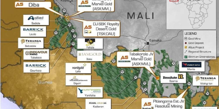 Altus Strategies Obtains Encouraging Drill Results At Tabakorole