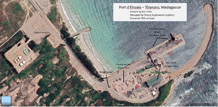 Blackearth Minerals Obtains Access To Madagascar Port Infrastructure