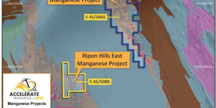 Accelerate Speeds Up Manganese Strategy