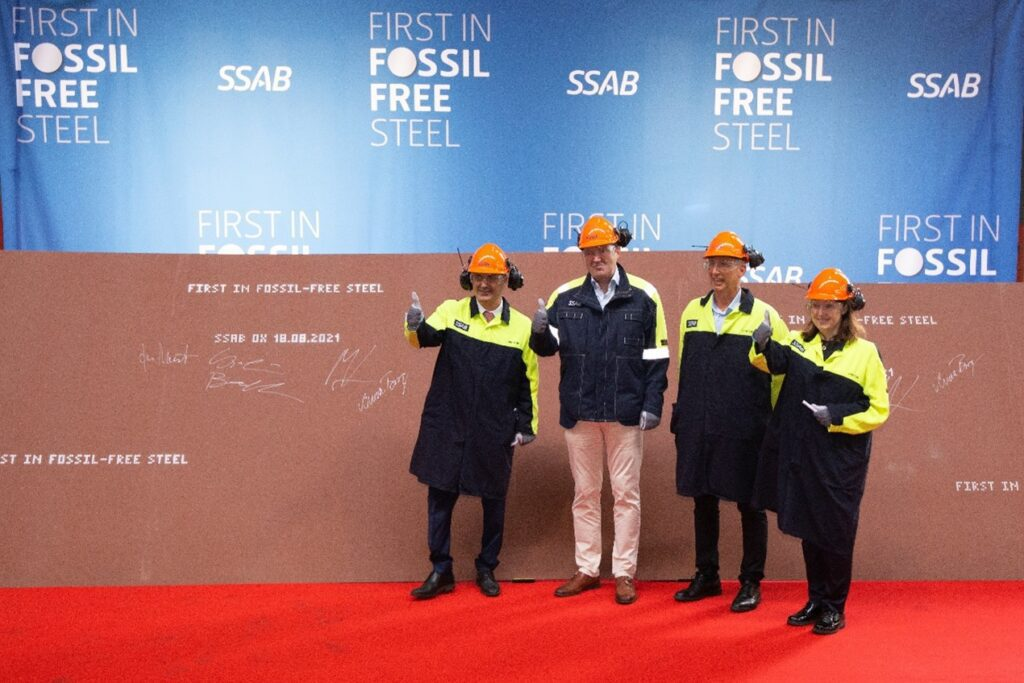 Swedish JV Produces Fossil-Free Steel as Coal Exports Soar