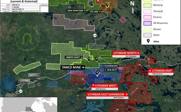 New Age Metals Farms Out 75% Manitoba Lithium Interest