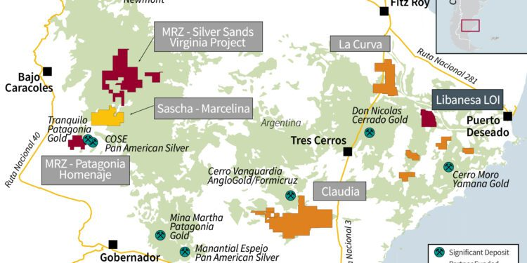 Golden Arrow Resources Takes Shot At Libanesa Silver-Gold Project