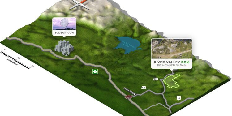 New Age Metals Reveals Significantly Updated River Valley Paladium MRE