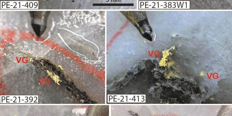 Amex Drills High Grade Gold From HGZ Zone of Perron