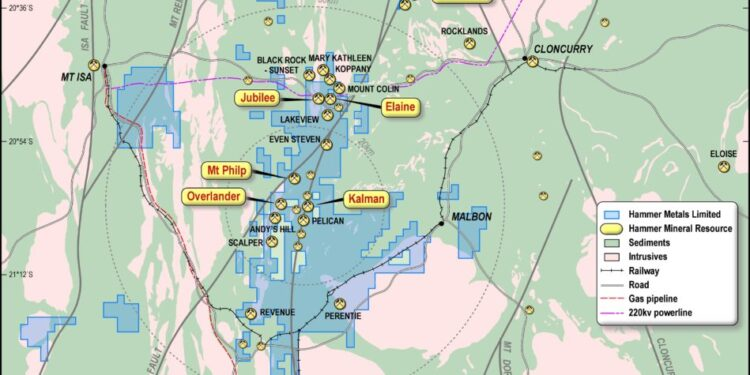 Hammer Metals Hits High-Grade Copper At Lakeview